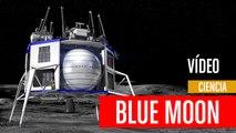Blue Moon, astronautas en la Luna en 2024