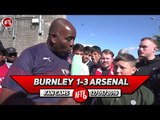 Burnley 1-3 Arsenal   I Think We Will Beat Chelsea In The Europa League Final!