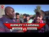 Burnley 1-3 Arsenal | We Need To Clear Out 7 To 11 Players In This Team!