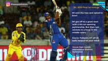 MI seal unprecedented 4th IPL title beating CSK by 1 run in last-ball thriller