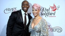 """Terry Crews and Rebecca King-Crews """"The Red Songbird Foundation"""" Launch Red Carpet"""