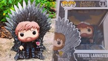 TYRION LANNISTER ON THRONE FUNKO POP GAME OF THRONES DETAILED LOOK #Gameofthrones