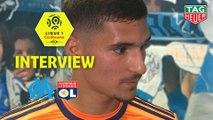 Interview de fin de match : Olympique de Marseille - Olympique Lyonnais (0-3)  - Résumé - (OM-OL) / 2018-19
