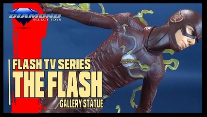 Flash Gallery Statue