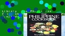 Library  The Philippine Cookbook - Reynaldo Alejandro