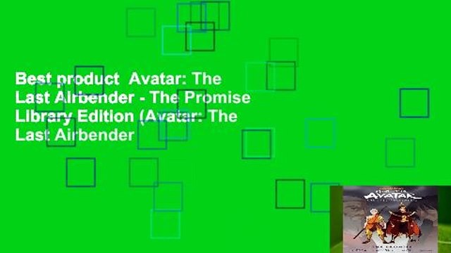Best product  Avatar: The Last Airbender - The Promise Library Edition (Avatar: The Last Airbender
