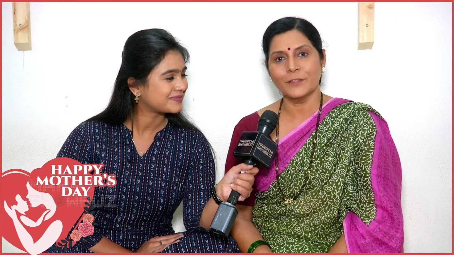 Mother's Day Special He Maan Baware | मृणाल आणि आईची Off Screen केमिस्ट्री  | Mrunal Dhusanis