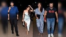 Kareena Kapoor Khan & Saif Ali Khan enjoy dinner date with Malaika Arora & Arjun Kapoor | FilmiBeat