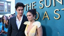 "Camila Mendes and Charles Melton at ""The Sun Is Also a Star"" Red Carpet Premiere"