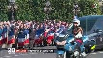 Militaires tués : l'hommage des citoyens aux Invalides
