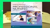 Leddy  Pepper's Professional Nursing  For Kindle