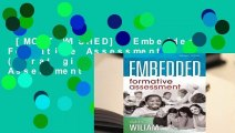 [MOST WISHED]  Embedded Formative Assessment: (Strategies for Classroom Assessment That Drives