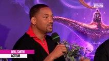 """ALADDIN:  Pour faire """"le Génie"""" Will Smith s'est inspiré de... ( EXCLU VIDEO)"""