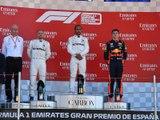 Classements du Grand Prix F1 d'Espagne 2019 - Infographie