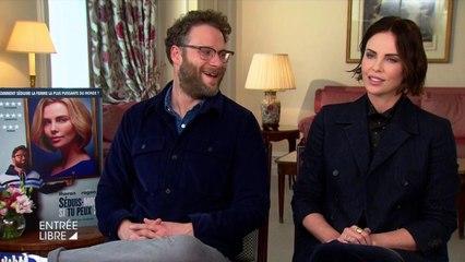 Dans la tête de Charlize Theron et Seth Rogen