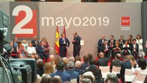 Raphael es galardonado con la Medalla de Oro de la Comunidad de Madrid