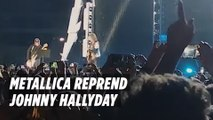 Metallica reprend  «Ma gueule» de Johnny Hallyday