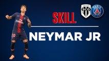 Angers SCO v Paris Saint-Germain: Neymar Jr skills