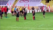 Essai des  Benjamins (Tournoi de rugby à 7 de Monaco)