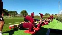 El Athletic Trabaja el Partido contra el Sevilla con Siete Cachorros del Bilbao Athletic