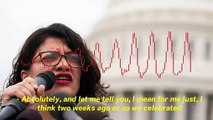Rashida Tlaib Says Holocaust Gives Her 'Calming Feeling' Knowing Her Ancestors Gave Up 'Lands And Lives' For Jews