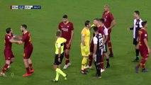 Quand Ronaldo dit à Florenzi qu'il est trop petit pour lui parler !