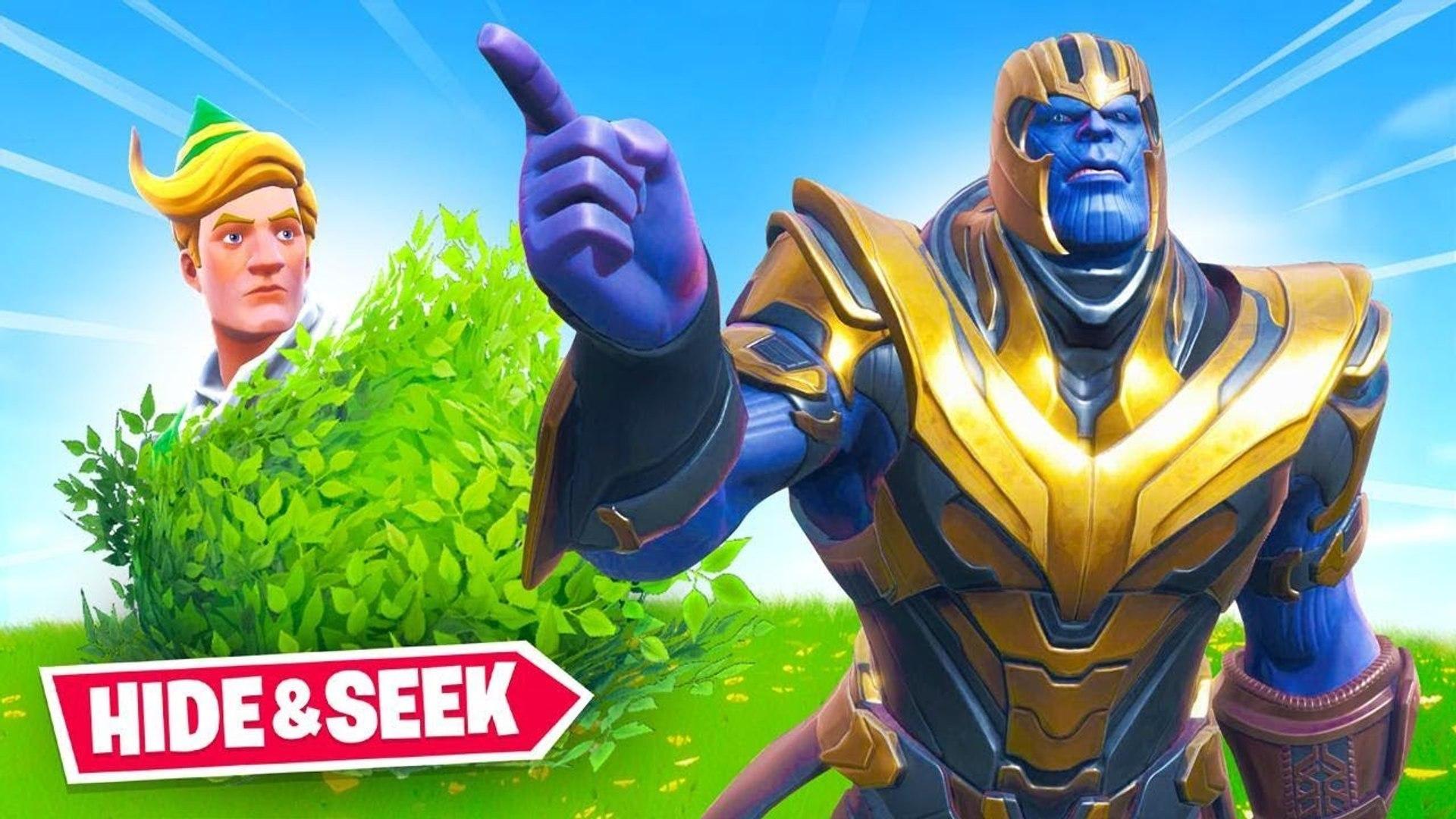 Thanos HIDE & SEEK In Fortnite | Fortnite Funny Moments