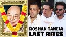 Bollywood Celebs PAYS Their LAST RESPECT To Acting Teacher Roshan Taneja - Salman Khan, Govinda,Anil