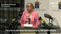 Suède:la justice relance les poursuites pour viol contre Assange