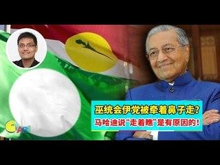 """【巫伊合作戴了绿帽】下集:巫统会伊党被牵着鼻子走?马哈迪说""""走着瞧""""是有原因的!"""