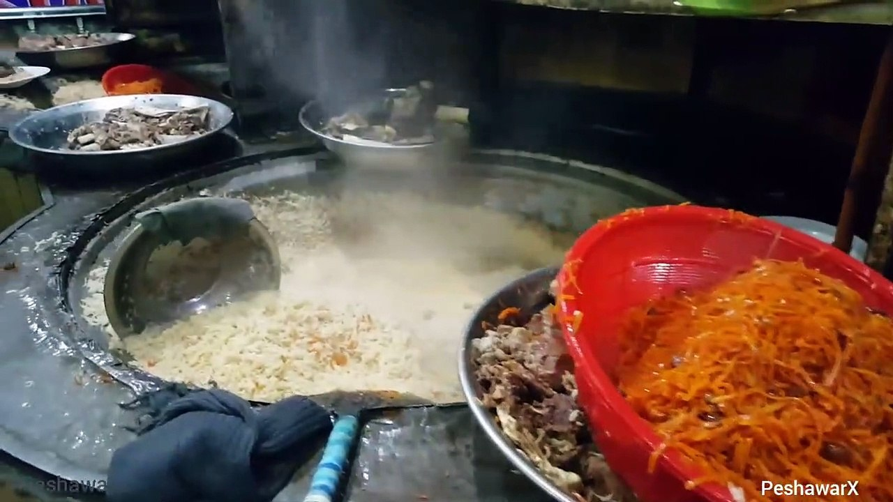 Pakistan Foods Kabuli Pulao Shinwari Restaurant Peshawar Video Dailymotion