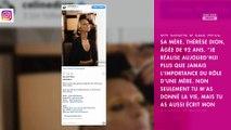Céline Dion : son beau message à sa maman pour la fête des mères