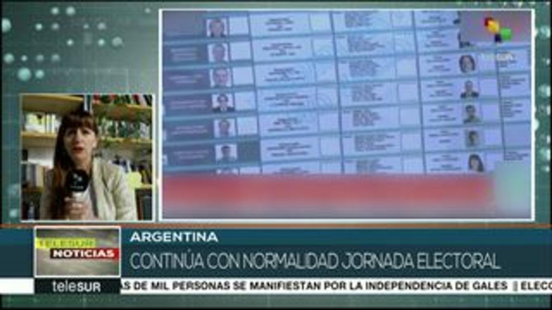 Argentina: por primera vez Córdoba usa la Boleta única en elección