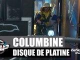 Lorenzo remet le disque de Platine à Columbine #PlanèteRap