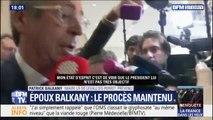 """Patrick Balkany dénonce un président """"pas très objectif"""" face au refus de renvoi de son procès"""