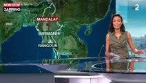 Birmanie : Un avion parvient à atterrir sans roues avant (vidéo)