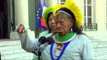 Lutte contre la déforestation : Raoni Metuktire, leader d'un mouvement mondial