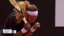 Serena sails through opening clay court match