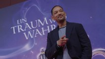 Will Smith and Naomi Scott exchanged 'full snot high five' on Aladdin set