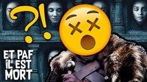 La Mort la plus choquante dans GAME OF THRONES ? - Et Paf il est Mort
