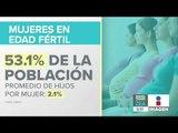 Datos de la fertilidad en mujeres mexicanas durante su edad reproductiva | Noticias con Paco Zea