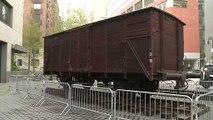 Emotions, réflexions et souvenirs autour d'une exposition sur Auschwitz à New York