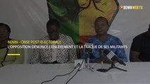 Bénin: L'opposition dénonce l'enlèvement et la traque de ses militants