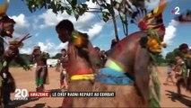 Déforestation : le chef Raoni Metuktire lutte pour sauvegarder l'Amazonie