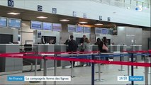 Transport : vague de suppression de postes chez Air France