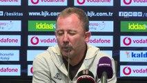 Beşiktaş-Aytemiz Alanyaspor maçının ardından - Sergen Yalçın - İSTANBUL