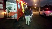 Mulher sofre queda de moto ao evitar colisão com carro no Parque São Paulo