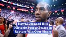 Kawhi Leonard And His Incredible Buzzer Beater Victory