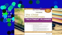 About For Books  The Child Psychotherapy Treatment Planner: Includes DSM-5 Updates  Review