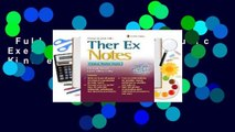 Full version  Therapeutic Exercise Notes  For Kindle